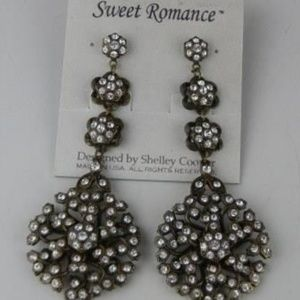 Sweet Romance Crystal Pave Earrings